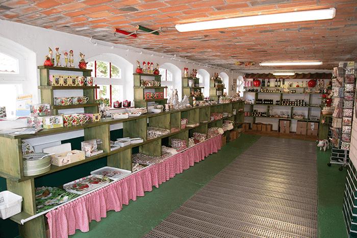 De Manderveense Aardbei Streekproducten Winkel